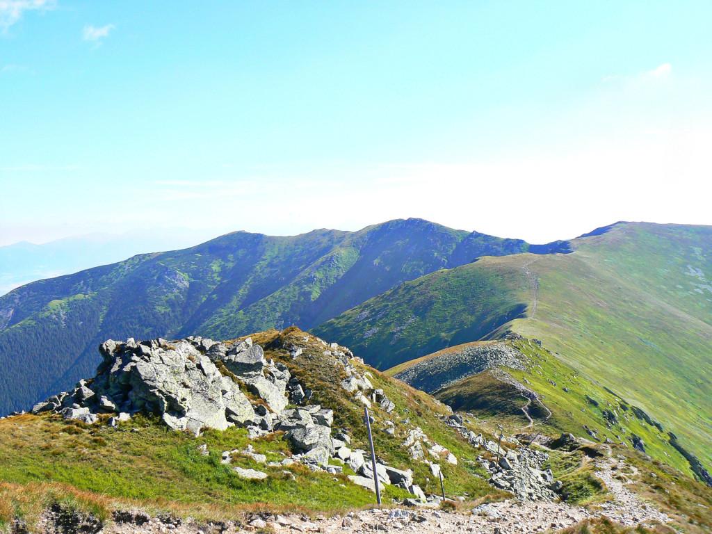 Výhľad - Hrebeň Nízkych Tatier