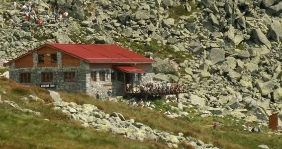 Kamenná chata ( 2000 m n. m. )